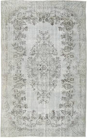 Colored Vintage Rug 164X266 Authentic  Modern Handknotted Light Grey/Turquoise Blue (Wool, Turkey)