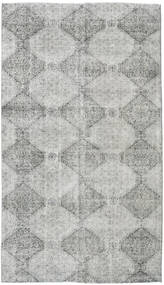 Colored Vintage Rug 143X248 Authentic  Modern Handknotted Light Grey/Turquoise Blue (Wool, Turkey)
