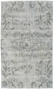 Colored Vintage Rug 154X263 Authentic  Modern Handknotted Light Grey/Turquoise Blue (Wool, Turkey)