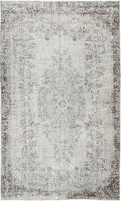 Colored Vintage Rug 163X276 Authentic  Modern Handknotted Light Grey (Wool, Turkey)