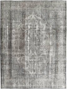 Colored Vintage Rug 285X375 Authentic  Modern Handknotted Light Grey/Dark Grey Large (Wool, Persia/Iran)