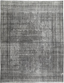 Colored Vintage Rug 295X378 Authentic  Modern Handknotted Light Grey/Dark Grey Large (Wool, Persia/Iran)