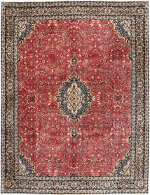 Bidjar With Silk Rug 297X385 Authentic Oriental Handknotted Dark Red/Dark Grey Large (Wool/Silk, Persia/Iran)