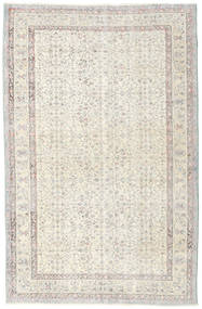 Colored Vintage Rug 167X257 Authentic  Modern Handknotted Light Grey/Beige (Wool, Turkey)