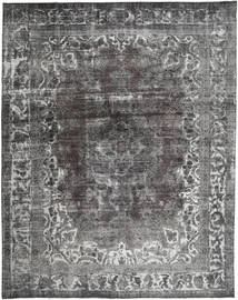 Colored Vintage Rug 295X372 Authentic  Modern Handknotted Dark Grey/Light Grey Large (Wool, Pakistan)