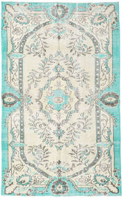 Colored Vintage Rug 170X274 Authentic  Modern Handknotted Beige/Turquoise Blue (Wool, Turkey)