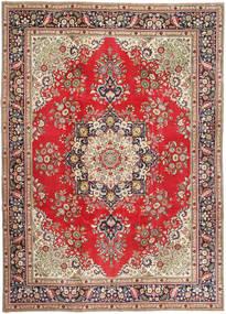 Tabriz Patina Rug 245X340 Authentic  Oriental Handknotted Light Brown/Light Grey (Wool, Persia/Iran)