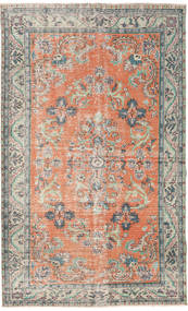 Colored Vintage Rug 182X294 Authentic  Modern Handknotted Light Grey/Light Pink (Wool, Turkey)