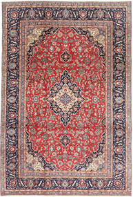 Keshan Patina Rug 240X355 Authentic  Oriental Handknotted Rust Red/Light Grey (Wool, Persia/Iran)