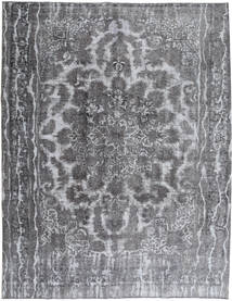 Colored Vintage Rug 283X355 Authentic  Modern Handknotted Light Grey/Dark Grey Large (Wool, Persia/Iran)