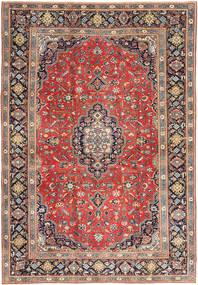 Tabriz Patina Rug 255X370 Authentic  Oriental Handknotted Dark Red/Dark Grey Large (Wool, Persia/Iran)