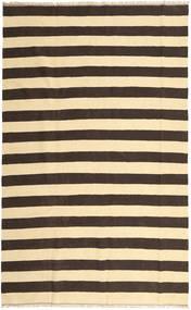 Kilim Rug 188X300 Authentic  Oriental Handwoven Beige/Dark Brown/Dark Beige/Dark Grey (Wool, Persia/Iran)