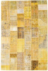 Patchwork Rug 200X300 Authentic  Modern Handknotted Dark Beige/Yellow (Wool, Turkey)