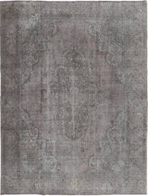 Colored Vintage Rug 285X370 Authentic  Modern Handknotted Light Grey/Dark Grey Large (Wool, Persia/Iran)