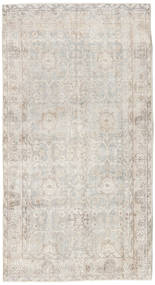 Colored Vintage Rug 114X212 Authentic  Modern Handknotted Light Grey (Wool, Turkey)