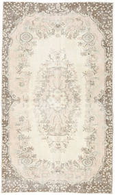 Colored Vintage Rug 117X200 Authentic  Modern Handknotted Beige/Light Grey (Wool, Turkey)
