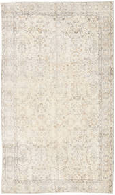 Colored Vintage Rug 116X200 Authentic  Modern Handknotted Light Grey/Beige (Wool, Turkey)