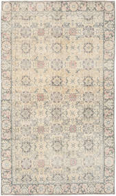 Colored Vintage Rug 145X245 Authentic  Modern Handknotted Light Grey/Beige (Wool, Turkey)