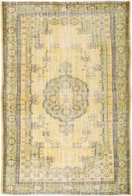 Colored Vintage Rug 193X288 Authentic  Modern Handknotted Dark Beige/Beige (Wool, Turkey)