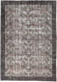 Colored Vintage Rug 195X280 Authentic  Modern Handknotted Dark Grey/Light Grey (Wool, Turkey)
