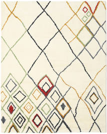 Berber Indo - Off-White/Multi Rug 240X300 Authentic  Modern Handknotted Beige/White/Creme (Wool, India)
