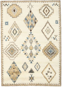 Berber Indo - Off White/Beige Rug 160X230 Authentic Modern Handknotted Beige/Light Brown (Wool, India)