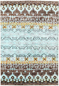 Quito - L. Blue Rug 160X230 Authentic  Modern Handknotted Light Grey/Light Blue (Silk, India)