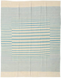Kilim Modern Rug 181X230 Authentic  Modern Handknotted Beige/Turquoise Blue (Wool, India)