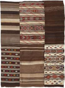 Kilim Patchwork Rug 218X290 Authentic  Modern Handwoven (Wool, Turkey)