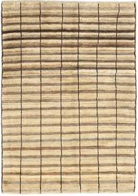 Gabbeh Persia Rug 98X136 Authentic  Modern Handknotted Beige/Light Brown (Wool, Persia/Iran)