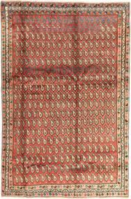 Afshar Rug 195X295 Authentic Oriental Handknotted Dark Red/Dark Brown (Wool, Persia/Iran)