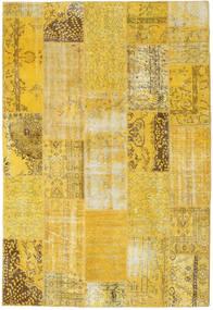 Patchwork Rug 203X298 Authentic  Modern Handknotted Yellow/Dark Beige (Wool, Turkey)
