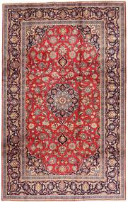 Keshan Rug 195X312 Authentic  Oriental Handknotted Dark Red/Rust Red (Wool, Persia/Iran)
