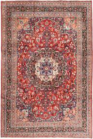 Moud Rug 238X355 Authentic  Oriental Handknotted Dark Red/Brown (Wool, Persia/Iran)
