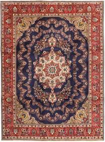 Tabriz Rug 253X340 Authentic  Oriental Handknotted Dark Purple/Dark Red Large (Wool, Persia/Iran)