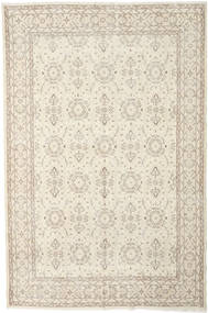Colored Vintage Rug 207X314 Authentic  Modern Handknotted Beige/Light Grey (Wool, Turkey)