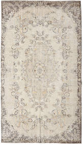 Colored Vintage Rug 165X291 Authentic  Modern Handknotted Light Grey/Beige (Wool, Turkey)