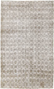 Colored Vintage Rug 166X281 Authentic  Modern Handknotted Light Grey (Wool, Turkey)