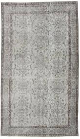 Colored Vintage Rug 117X204 Authentic  Modern Handknotted Light Grey/Dark Grey (Wool, Turkey)