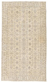 Colored Vintage Rug 119X210 Authentic  Modern Handknotted Beige/Light Grey (Wool, Turkey)