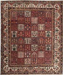 Bakhtiari Patina Rug 278X330 Authentic  Oriental Handknotted Dark Red/Brown Large (Wool, Persia/Iran)