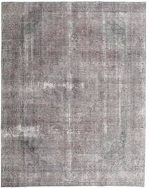 Colored Vintage Rug 280X355 Authentic  Modern Handknotted Light Grey/Dark Grey/Dark Brown Large (Wool, Persia/Iran)