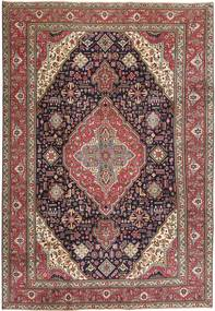 Tabriz Patina Rug 233X340 Authentic  Oriental Handknotted Dark Red/Dark Brown (Wool, Persia/Iran)