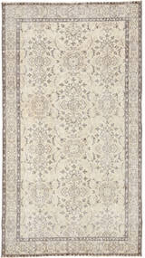 Colored Vintage Rug 109X205 Authentic  Modern Handknotted Light Grey/Beige (Wool, Turkey)