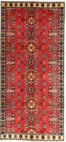 Qashqai Patina Rug 135X307 Authentic  Oriental Handknotted Hallway Runner  Dark Red/Rust Red (Wool, Persia/Iran)