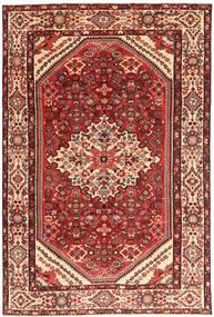 Hamadan Patina Rug 205X312 Authentic  Oriental Handknotted Dark Red/Light Pink (Wool, Persia/Iran)
