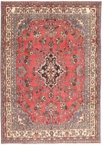 Hamadan Patina Rug 203X298 Authentic  Oriental Handknotted Light Pink/Dark Red (Wool, Persia/Iran)