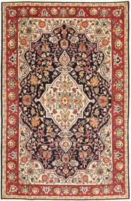 Tabriz Patina Rug 192X303 Authentic  Oriental Handknotted Dark Brown/Dark Red (Wool, Persia/Iran)