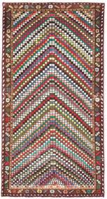 Bakhtiari Patina Rug 100X198 Authentic Oriental Handknotted Beige/Dark Brown (Wool, Persia/Iran)