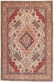 Tabriz Patina Rug 195X300 Authentic  Oriental Handknotted Light Brown/Light Pink (Wool, Persia/Iran)